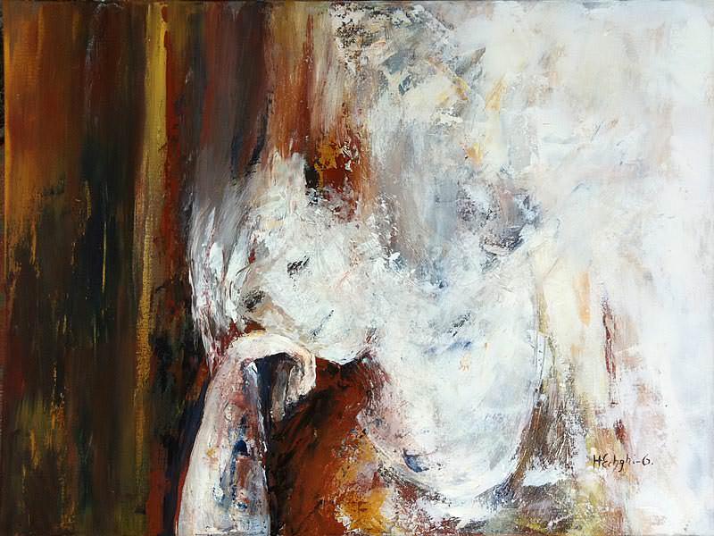 "Henriette Echghi-Ghamsari: Bild ""Frau 1"""