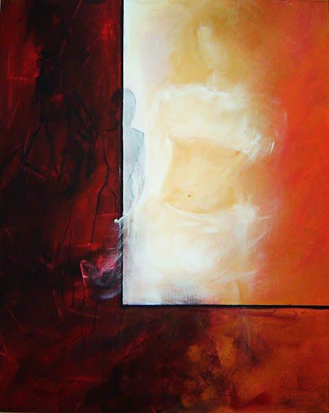 "Henriette Echghi-Ghamsari: Bild ""Rot 01"""