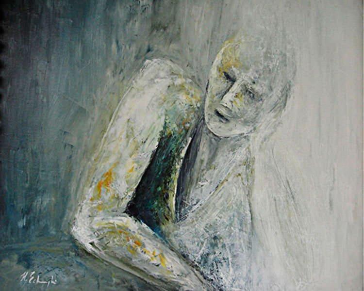 """Henriette Echghi-Ghamsari: Bild """"Sein 01"""""""